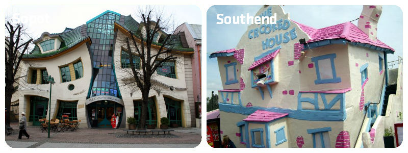 Sopot Southend Crooked House