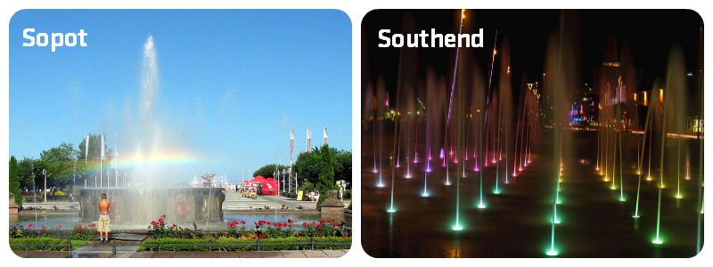 Sopot Southend Fountains