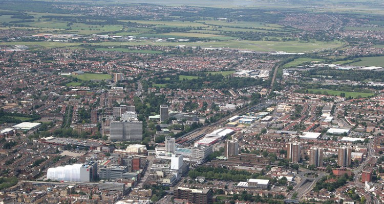 Southend Town Aerial View