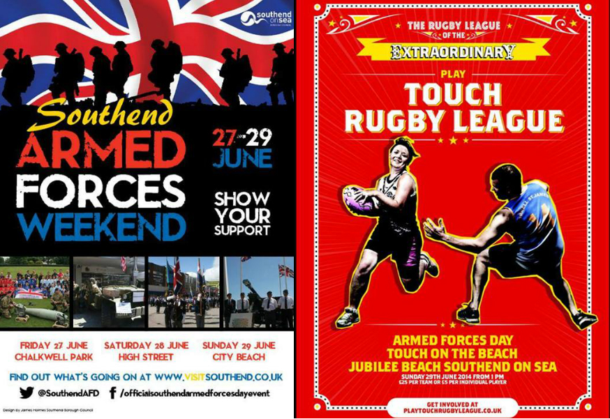 Southend Armed Forces Day 2014