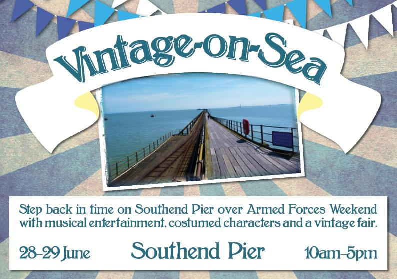 Vintage-on-Sea Southend Pier
