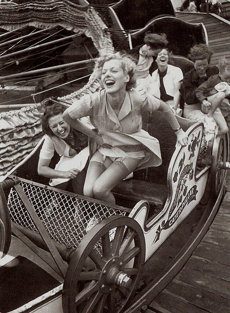 Southend Kursaal Ride 1930s