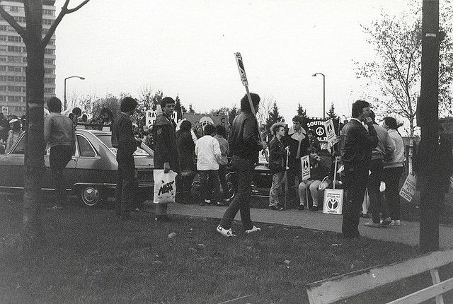 Southend 1980s Protest High Street