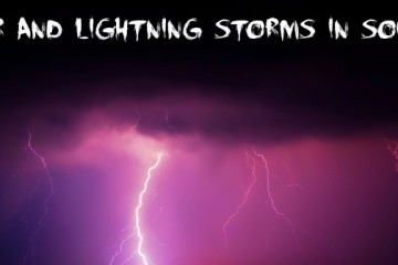 Thunder and Lightning Storms in Southend 2014