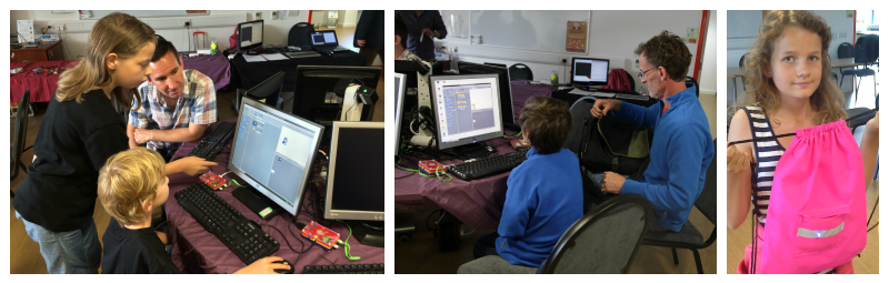Kids Coding at Southend Raspberry Jam