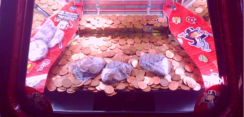 Penny Coin Slot Arcade Machine
