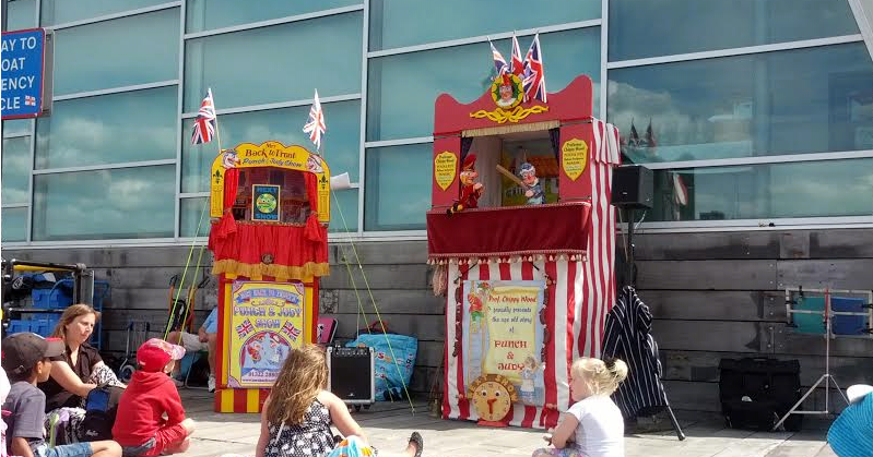 Punch and Judy Southend Pier