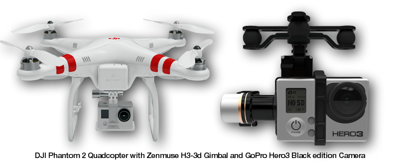Phantom Quadcopter and Go Pro