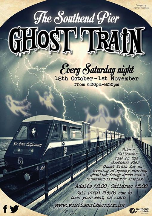 Southend Pier Ghost Train 2014