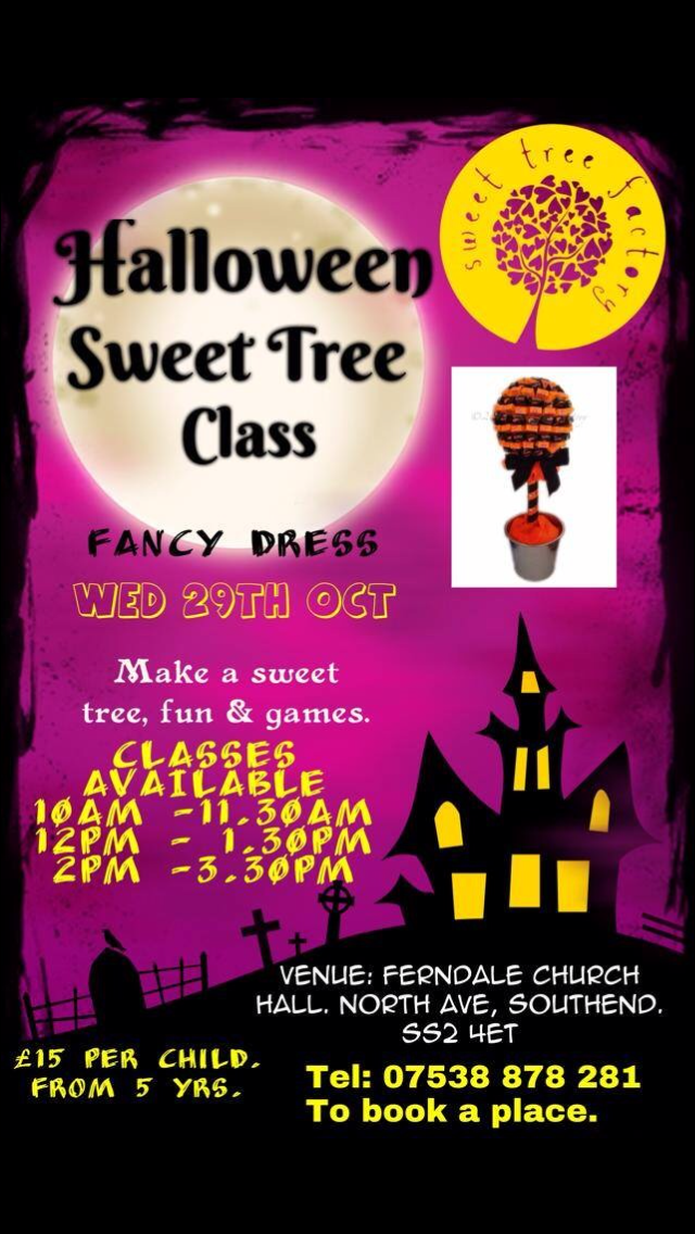 Halloween Sweet Tree Class