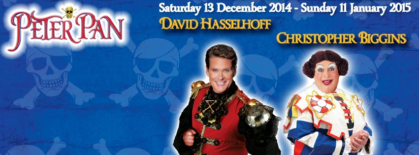 Peter Pan with David Hasselhoff