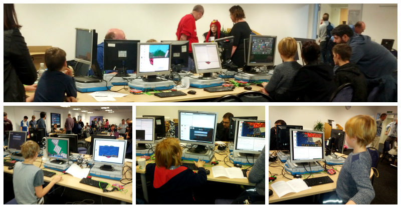 Adventures in Minecraft at Southend Raspberry Jam