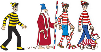 Where's Wally Characters