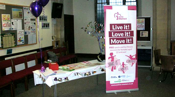 Active Women Southend Stand