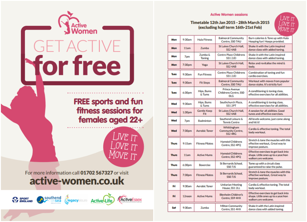 Active Women Southend Times