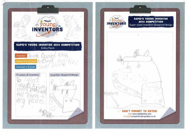 Cloud Machine Invention - Young Inventors