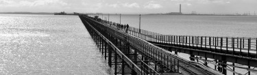 Southend Pier by Christopher Tourle