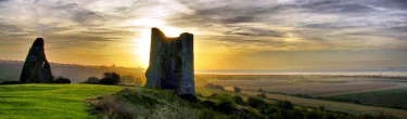 Hadleigh Castle by Will Chard