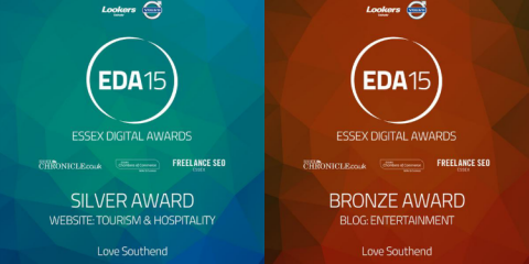 Love Southend - Essex Digital Awards 2015