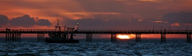 Southend Pier by Michelle Mackie