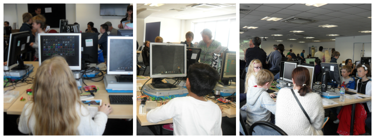 Kids Minecraft Hackathon at Southend Raspberry Jam #6 May 2015