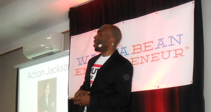 Action Jackson at Wanna Be An Entrepreneur 2016