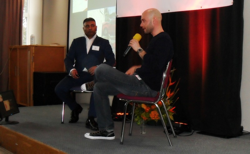 Dan Chambers at Wanna Be An Entrepreneur 2016