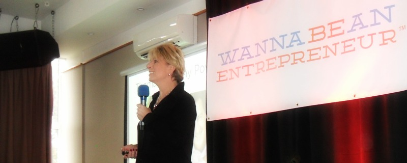 Penny Power at Wanna Be An Entrepreneur 2016