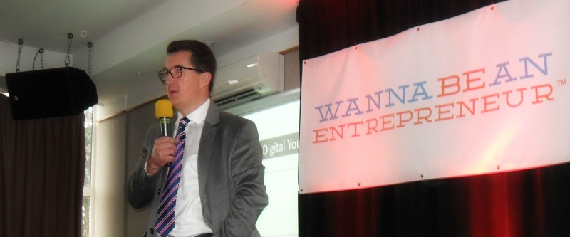 Thomas Power at Wanna Be An Entrepreneur 2016