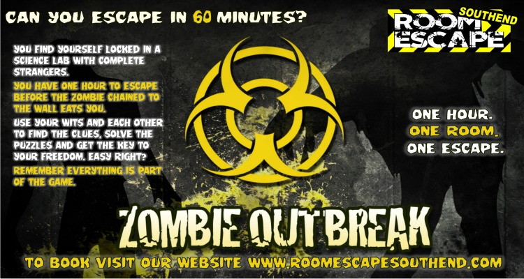 Zombie Outbreak Escape Room Southend