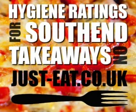 Hygiene Ratings for Southend Takeaways