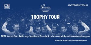 Davis Cup Trophy Tour Southend