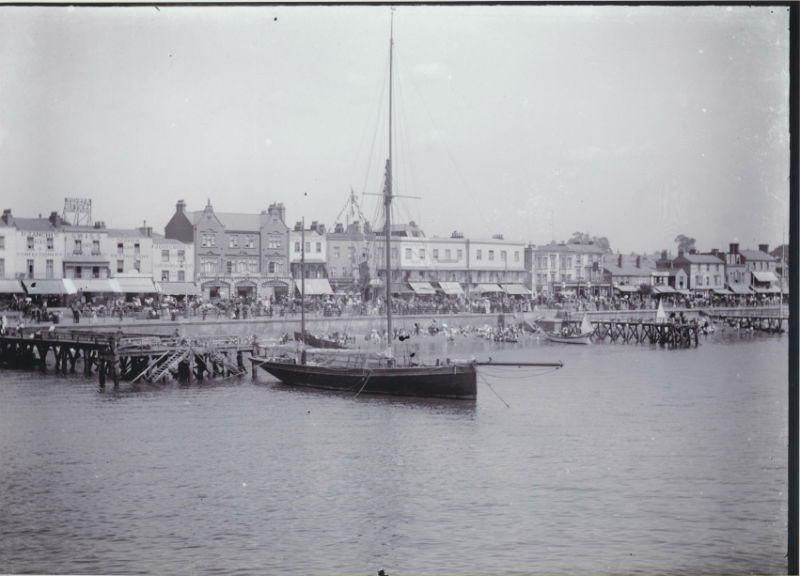 Glass Photographic Plates of Southend