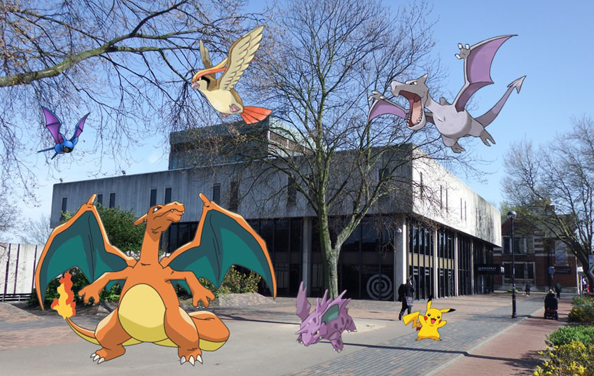 Pokémon Go at The Hive
