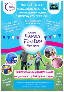 Relay For Life: Family Fun Day 2016