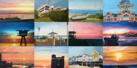 Paintings of Southend by Sharon Diack-Thicke