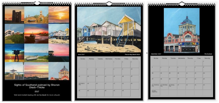Southend Paintings Calendar 2017