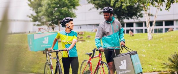 Deliveroo Riders come to Southend