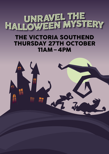 Unravel the Halloween Mystery at the Victoria Shopping Centre