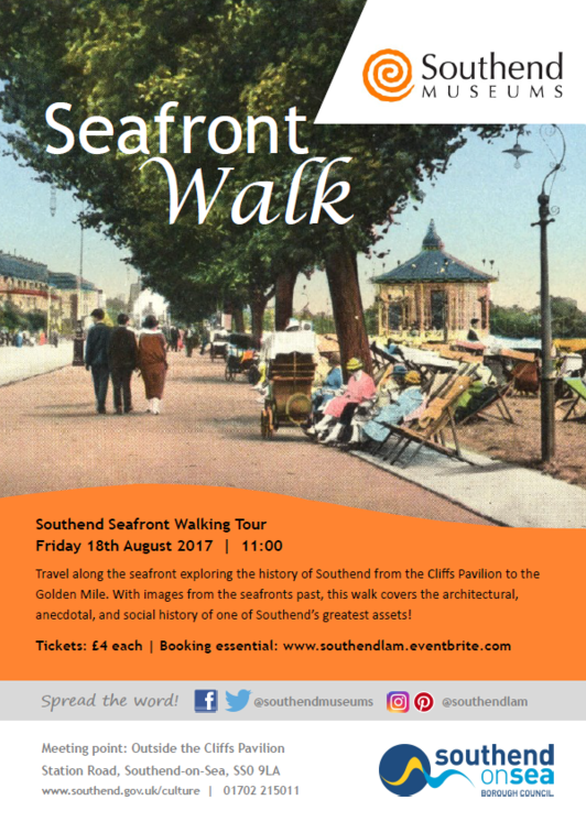 Southend Seafront Walking Tour - August 2017