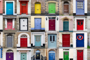 Neighbourhood doors